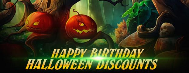Хэллоуин и ДР сервера uwow!